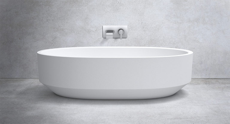 Zen Bath 1700mm Marble Stone Bathtub Apaiser