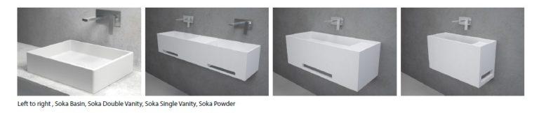 Soka Collection of baths and basins