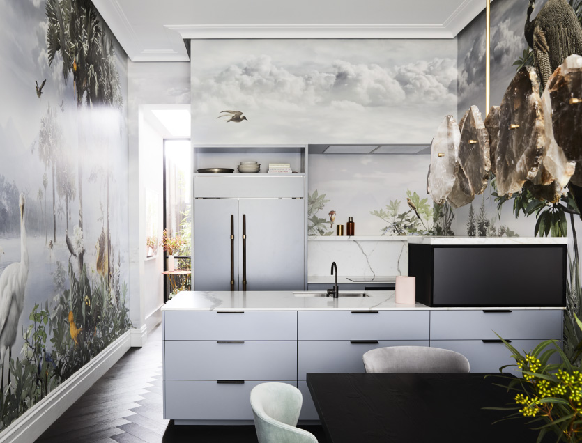 Fitzroy house designed and owned by Melbourne-based interior designer Kate Challis from Kate Challis Interiors
