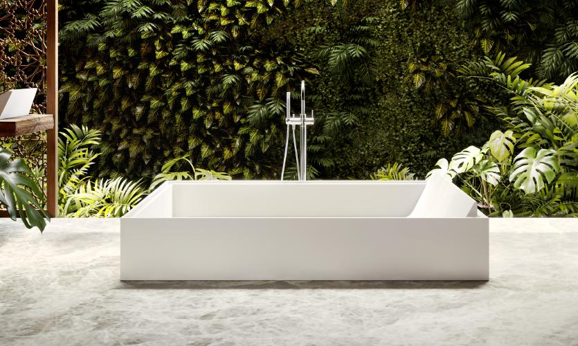 apaiser bathware sampan shower bath designer bathware wallpaper handmade salone del mobile