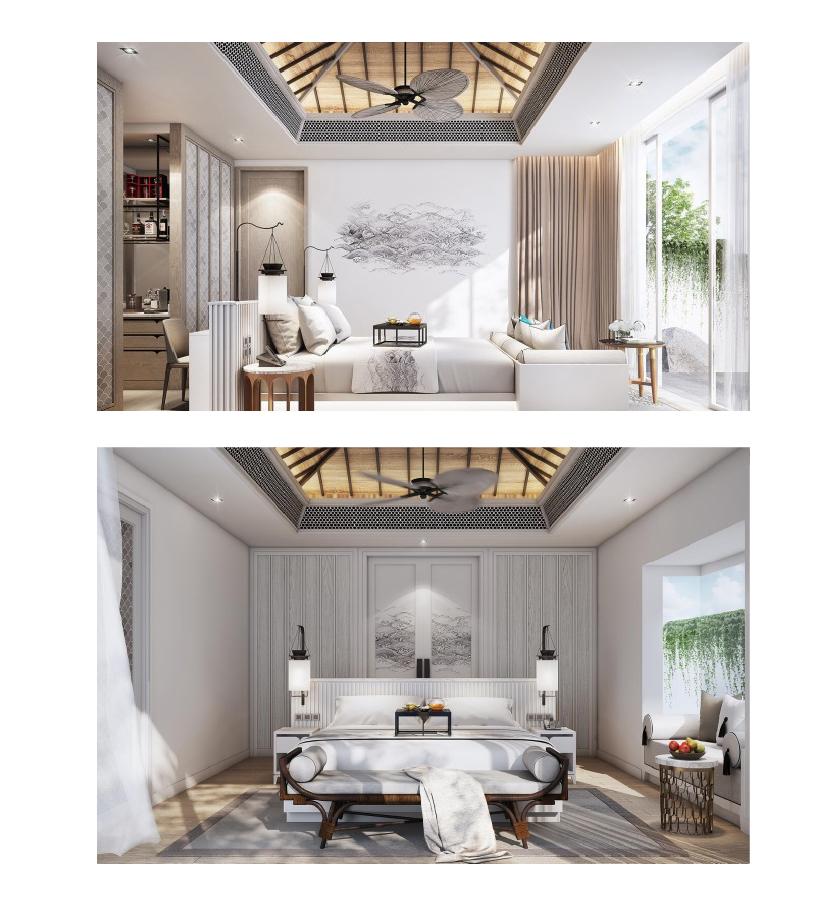 interiors in Banyan Tree Krabi in Thailand new resort by Banyan Tree Group