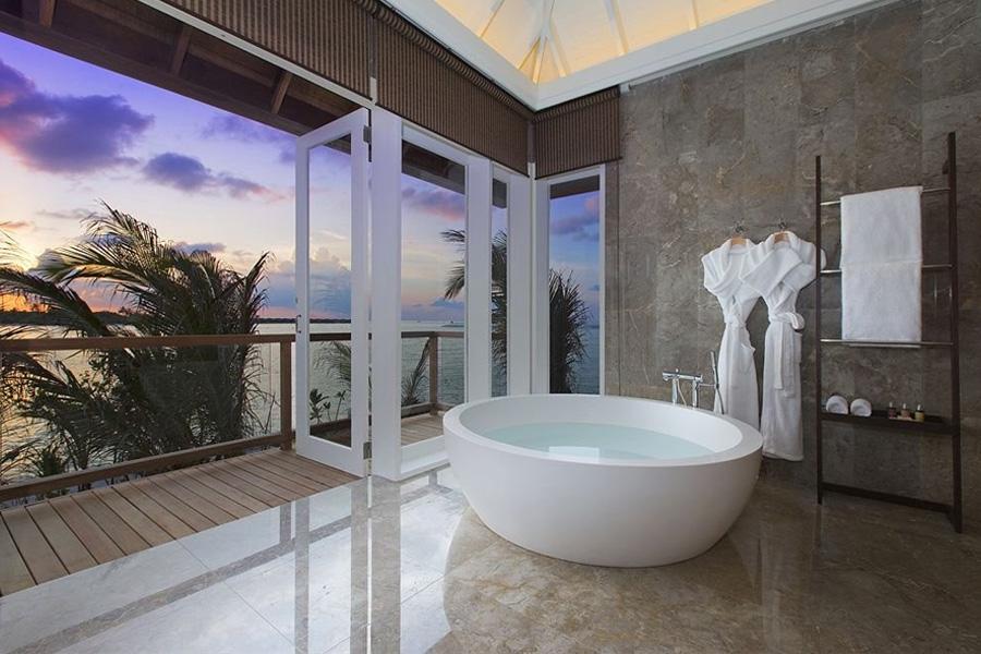Lunar Bath at Anantara Naladhu Resort, Maldives